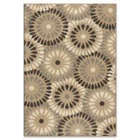 Orian Rugs Modern Grace Springtime Woven 7'10 x 10'10 Area Rug in Grey