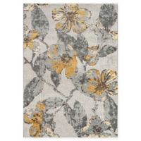 Momeni Luxe 9'3 x 12'6 Power-Loomed Area Rug in Grey
