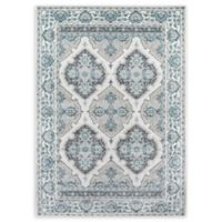 Momeni Brooklyn Heights Damask 2' x 3' Power-Loomed Accent Rug in Ivory
