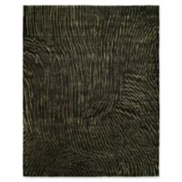 Natori Waterfall 10' x 14' Area Rug in Black