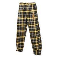 Arizona State University Men's Medium Flannel Plaid Pajama Pant with Left Leg Team Logo