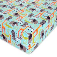 Glenna Jean Jungle Babies Fitted Crib Sheet
