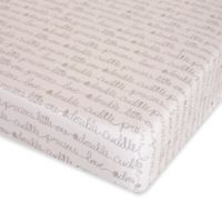 Glenna Jean All My Love Fitted Crib Sheet