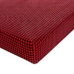 Glenna Jean Flannel Check Fitted Crib Sheet