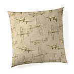 Glenna Jean Airplane Throw Pillow