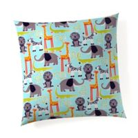 Glenna Jean Jungle Babies Throw Pillow