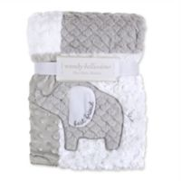 Wendy Bellissimo™ Patchwork Elephant Blanket