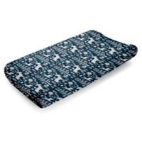 Liz and Roo Woodland Forest Changing Pad Cover in Navy