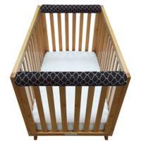 Go Mama Go Designs® Arabesque 30-Inch x 6-Inch Teething Guard in Black (Set of 2)