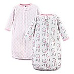 Hudson Baby® 2-Pack Dreamcatcher Long Sleeve Sleeping Bag in Pink