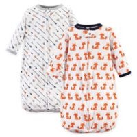 Hudson Baby® 2-Pack Fox Long Sleeve Sleeping Bag in Orange