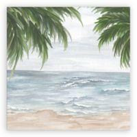 Artissimo Designs™ Palm View 18-Inch Square Canvas Wall Art