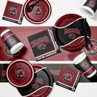 University of South Carolina 89-Piece Game Day Party Supplies Kit