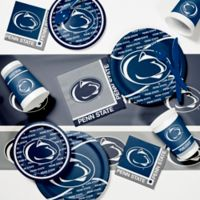 Penn State University 89-Piece Game Day Party Supplies Kit