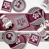 Texas A&M University 89-Piece Game Day Party Supplies Kit
