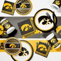 University of Iowa 89-Piece Game Day Party Supplies Kit