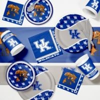 University of Kentucky 89-Piece Game Day Party Supplies Kit