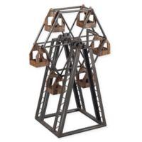 Sterling Industries Industrial Ferris Wheel Candelabra in Rust