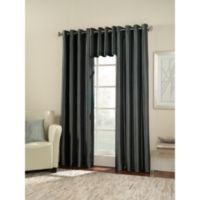 Argentina Room Darkening 63-Inch Grommet Window Curtain Panel in Peacock