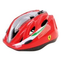 Ferrari Medium Kid's Helmet in Red