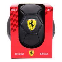 Ferrari Size 5 Limited Edition Soccer Ball in Black