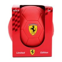 Ferrari Size 5 Limited Edition Soccer Ball in Red