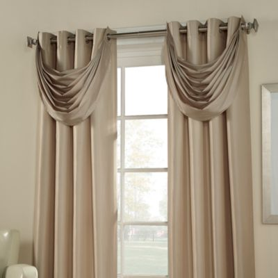 Buy Linen Waterfall Valance From Bed Bath Amp Beyond