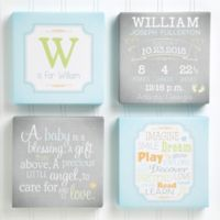 I Am Special Birth Info 5.5-Inch x 5.5-Inch Canvas Collection