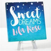 Sweet Dreams Baby Canvas Print