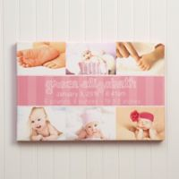 Precious Little One Photo Canvas Print