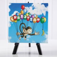 Floating Zoo Canvas Print