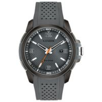 Citizen Eco-Drive Naismith Commemorative Edition Men's Watch with Grey Polyurethane Strap