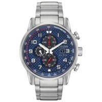 Citizen Eco-Drive Men's 45mm Primo Chronograph Bracelet Watch in Stainless Steel