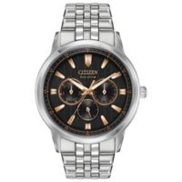 Citizen Eco-Drive Men's 44mm Corso Bracelet Watch in Stainless Steel