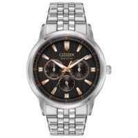 Citizen Eco-Drive Men's 44mm Corso Bracelet Watch in Stainless Steel