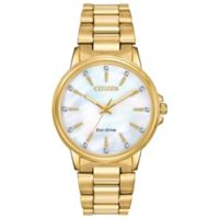 Citizen Eco-Drive Chandler Ladies' 37mm Bracelet Watch with Mother-of-Pearl Dial