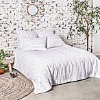 Gavin Queen Quilt in White