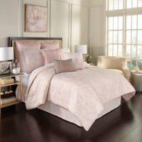 Beautyrest® Montreal 4-Piece Reversible Queen Comforter Set in Blush