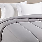 Equip Your Space Solid Full/Queen Comforter in Grey