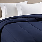 Equip Your Space Solid Full/Queen Comforter in Navy