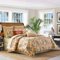 Tommy Bahama® Kamari Reversible King Comforter Set in Orange