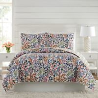 Vera Bradley® Petite Floral Twin Quilt in Blue