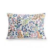 Vera Bradley® Petite Floral Standard Pillow Sham in Blue