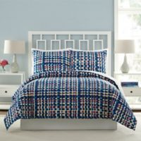 Vera Bradley® Abstract Blocks Twin Quilt in Blue