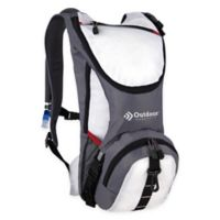 Outdoor Products Ripcord 2-Liter Hydration Pack in White