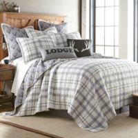Levtex Home Cayden Reversible Twin Quilt in Grey