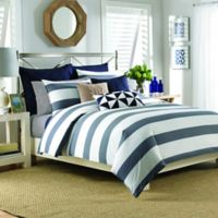Nautica® Lawndale King Duvet Cover Set in Navy