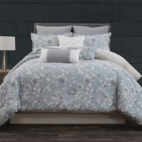 Laundry by SHELLI SEGAL® Crestmont Reversible King Comforter Set in Blue