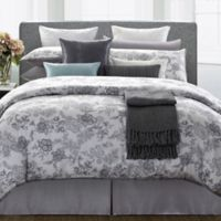 Legacy Queen Duvet Cover Set in Grey