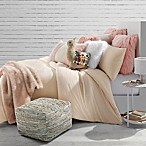 Jersey Neon Speckled Twin Comforter Set in Blush